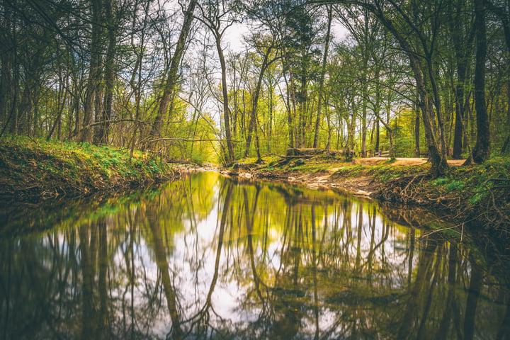 Still waters hide turbulent times